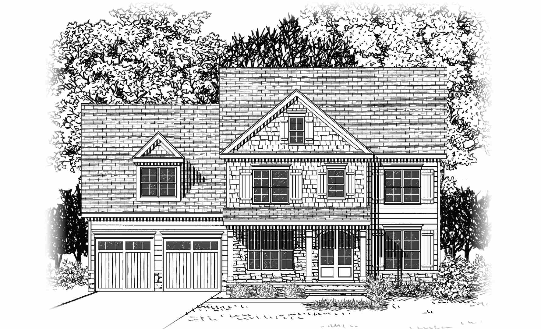 2549 Glade Mill Court (Lot 293)